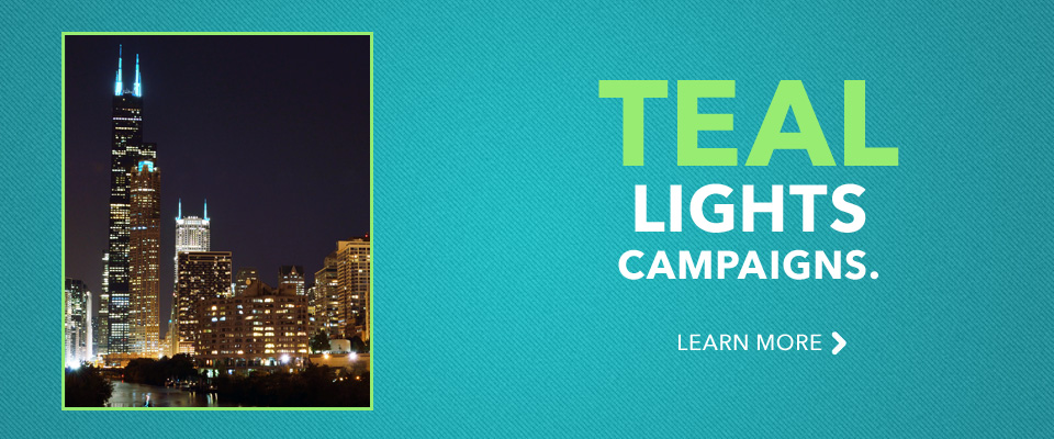 Teal Lights Campaigns